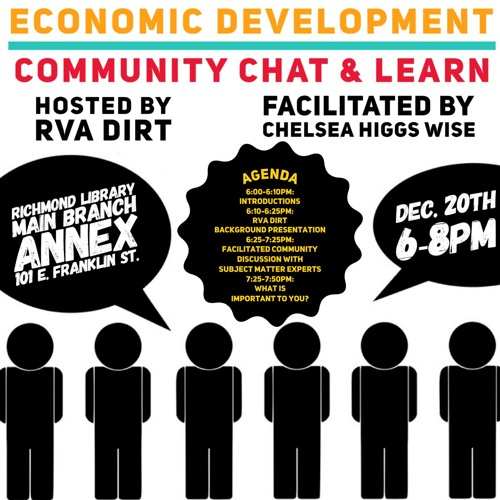 Economic Chat Community Chat & Learn -- Thursday, December 20,2018