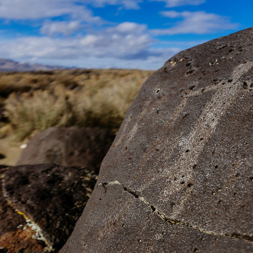 Lost Stories In Stone, Petroglyphs at Celebration Park