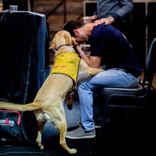 """""""דרך כלבי שירות אפשר להציל חיים של אנשים שנפצעו בצבא וסובלים מפוסט טראומה"""""""