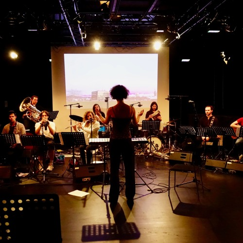 """Theos Trampolin"" - Jahresprojekt HKB JazzComp Skyline 2018"