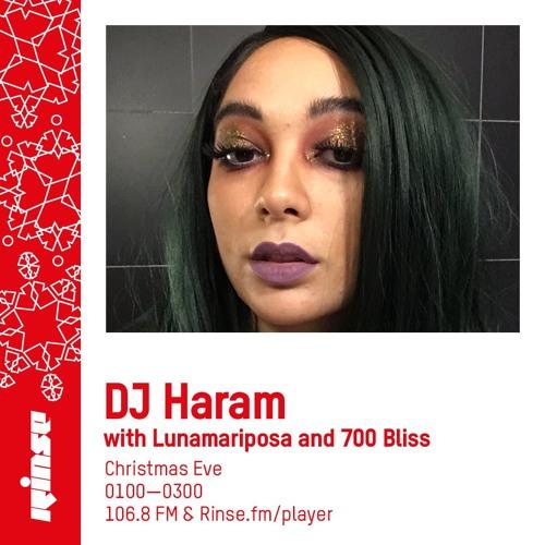 DJ Haram with Lunamariposa & 700 Bliss - 24th December 2018