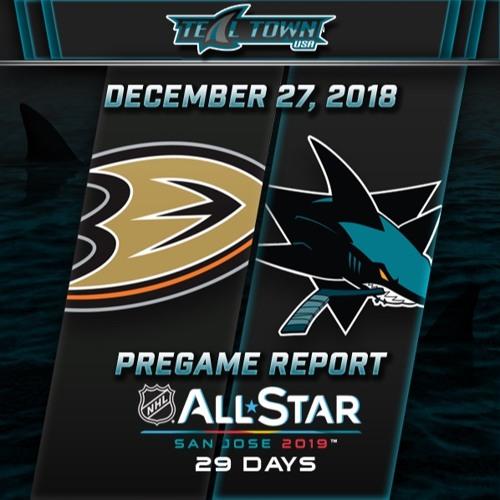 Teal Town USA After Dark (Postgame) - San Jose Sharks vs Anaheim Ducks - 12-27-2018