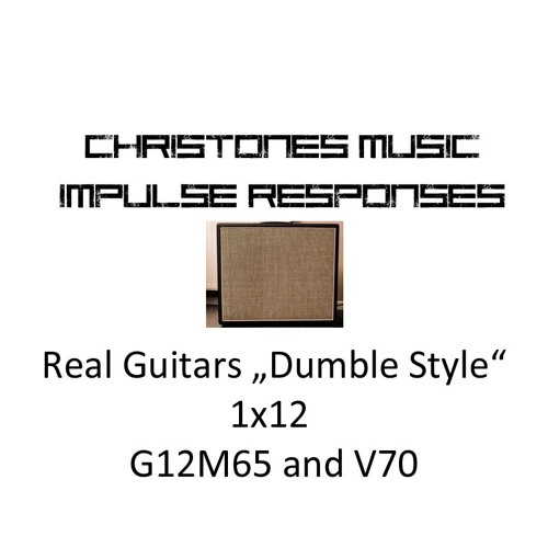 Demo: CTM Real Guitars 1x12 G12M65 V70 IRs