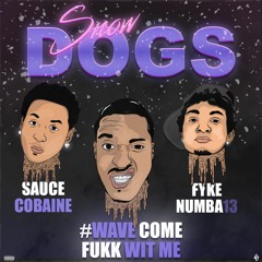 Snow Dogs (ft. #WaveComeFukkWitMe & Sauce Cobaine)