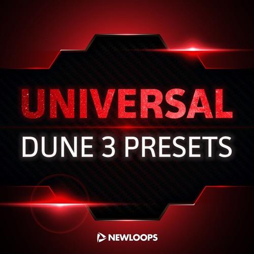 Universal Dune 3 Sound Bank - 50 Patch Dem