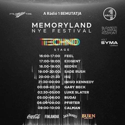 Sade Rush live @ MemoryLand NYE Festival, BOK Csarnok (ex SYMA), Budapest, Hungary 31.12.2018