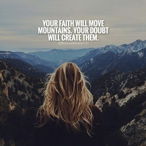 2b. How your belief can move mountains