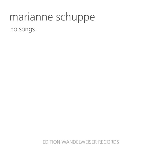 """EWR 1802 - Marianne Schuppe """"April"""" from nosongs"""