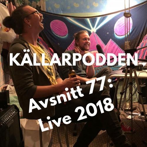 Källarpodden Live 2018
