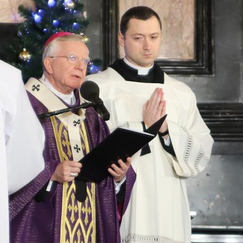 Abp Jędraszewski - Pogrzeb Bp Pieronka