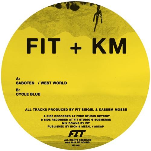 """FIT Siegel & Kassem Mosse """"Saboten"""" 12""""(FIT-021)"""