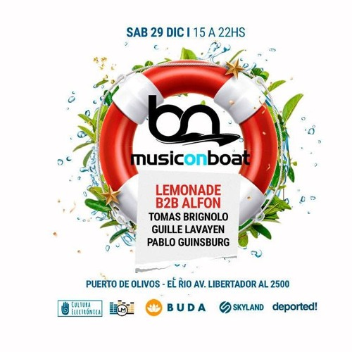 Pablo Guinsburg @ Music On Boat 29-12-2018