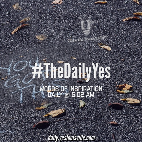 If A Tree Falls In The Woods - Yespiration no.1 #TheDailyYes