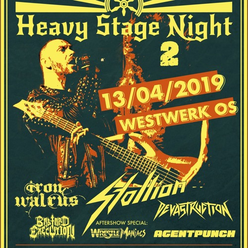 Heavy Stage Night 2 - 13.04.2019 - JZ Westwerk Osnabrück