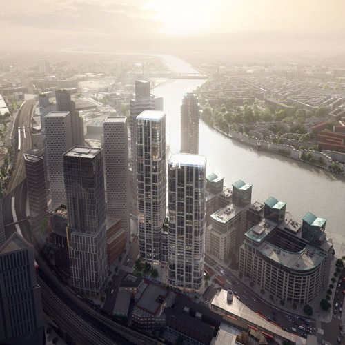 Controversial Zha Two-Tower Plan Greenlit In London