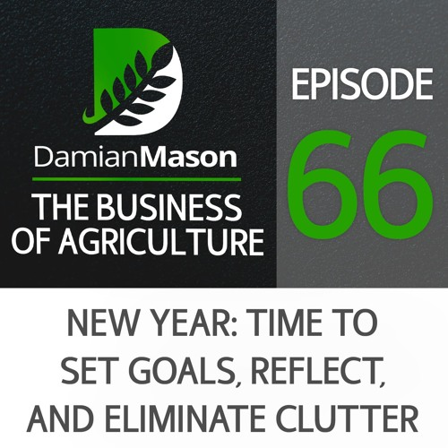 66 - New Year: Time to Set Goals, Reflect, and Eliminate Clutter