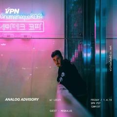 Analog Advisory Radio 014: Moskalus