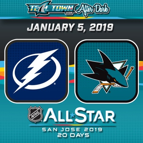 Teal Town USA After Dark (Postgame) - San Jose Sharks vs Tampa Bay Lightning - 1-5-2019
