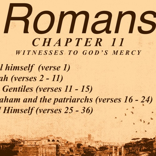 Romans 11 - Witnesses To God's Mercy - 30th Dec 2018 AM - Pastor Nick Serb