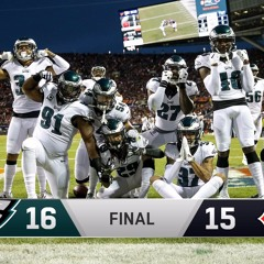 Eagles win over Bears 2019 Wild Card final play