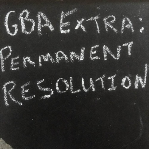 GBA Extra - Permanent Resolution