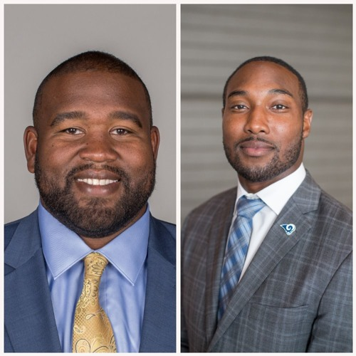 Jacques McClendon and Jonathan Franklin, Los Angeles Rams
