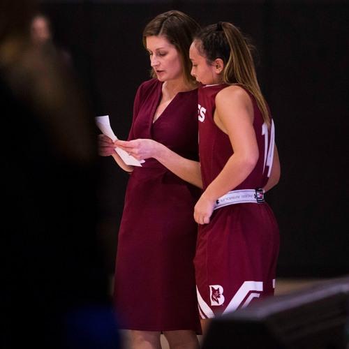 Women's basketball head coach Alison Montgomery on 105 Sports radio