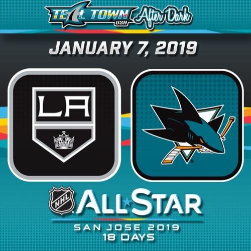 Teal Town USA After Dark (Postgame) - San Jose Sharks vs LA Kings - 1-7-2019