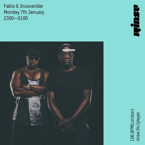 Fabio, Grooverider - Rinse FM (07-01-2019)