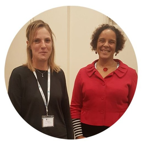 Prof. Helen Minnis With Clare Evans
