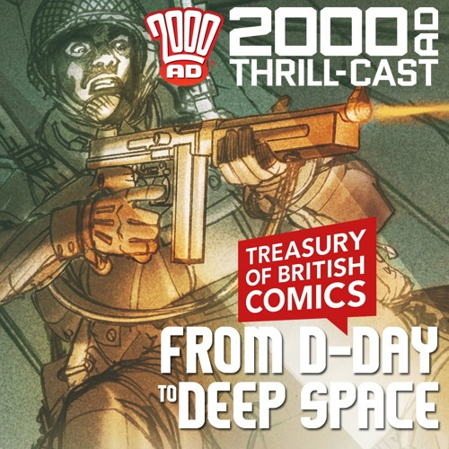 Comics from D-Day to deep space!