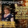 Susan Boyle Earns Golden Buzzer With Iconic Wild Horses - America's Got Talent The Champions