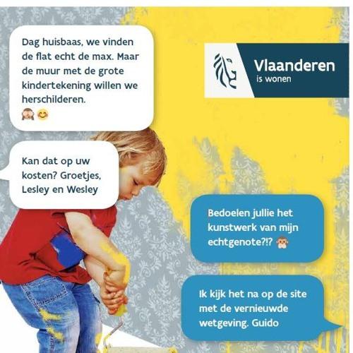 Vlaamse Overheid Huurdecreet Radio 20s