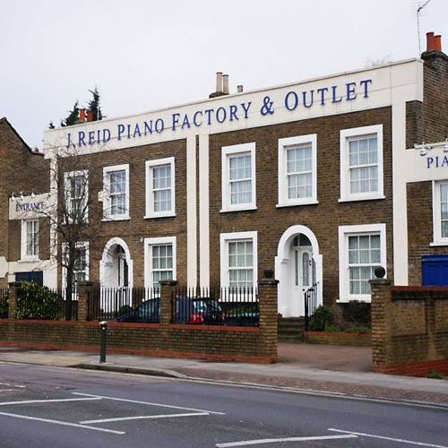 Made In London; J.Reid Piano Factory, St Ann's Rd, South Tottenham N15