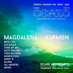 Magdalena Karmon/Ocaso Festival 2019 Sunday Artro set @ Costa Rica