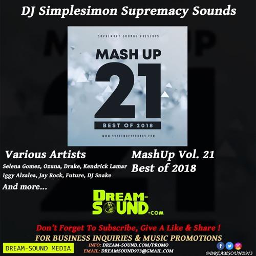 DJ Simplesimon - MashUp Vol  21, Best of 2018 (Rap, Hip-Hop