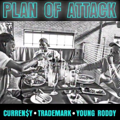 Curren$y, Trademark Da Skydiver & Young Roddy - Plan Of Attack