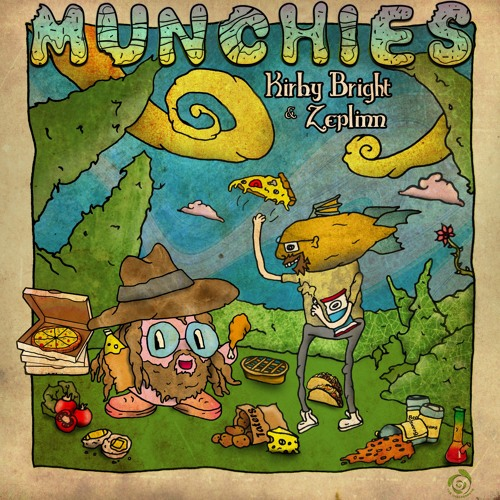 KirbyBright & Zeplinn - Munchies (EP) 2019