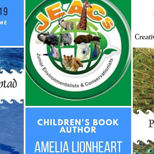 Children's & YA Author Amelia Lionheart on Creative Edge Writer's Showcase with Christie Stratos