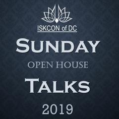 Sunday Open House Talks 2019
