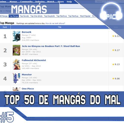 Mangás #5 – Comentando O Top 50 De Mangás Do MyAnimeList