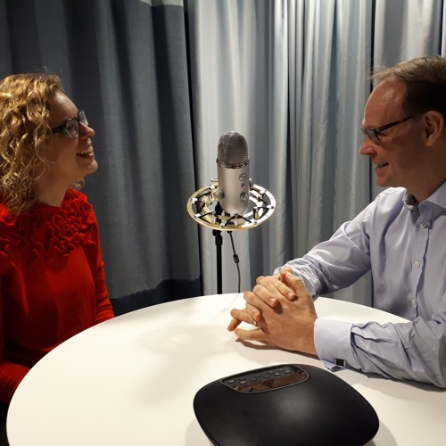 Transmissions From Tomorrow ep. 19 with Cecilia Atterwall & Thomas Noren, Ericsson