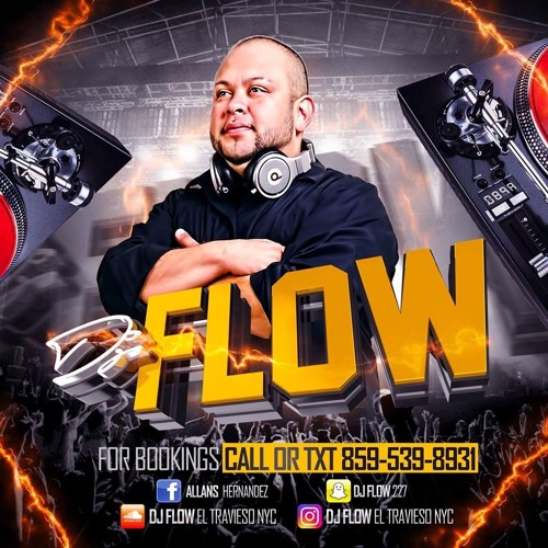 DJ  FLOW EL TRAVIESO NYC BANDA LIVE  MIX VOL. 3