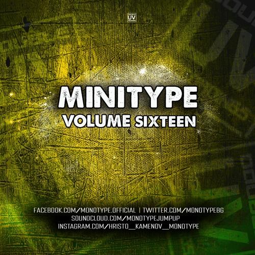 MONOTYPE - MINITYPE VOLUME SIXTEEN