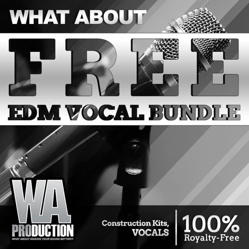 FREE EDM Vocal Bundle | Vocal Samples For EDM & Trap [FL Studio / Ableton / Logic Pro]