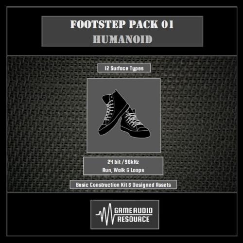 GAR SFX LIB Footstep Pack 01 Humanoid