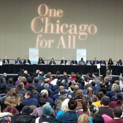 One Chicago For All Mayoral Forum, Jan. 12, 2019. Chicago