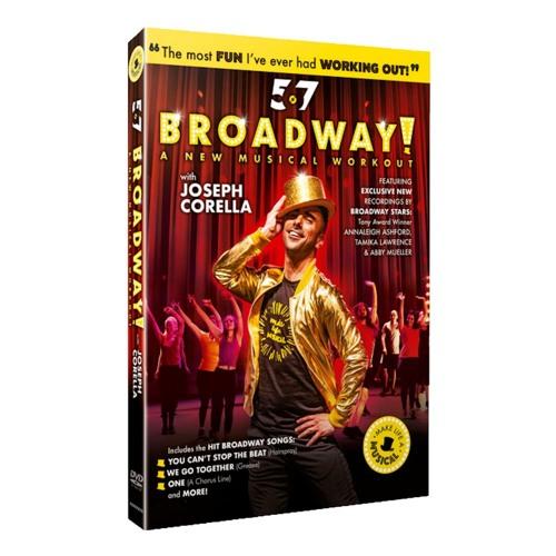2019 Broadway Con- JOSEPH CORELLA Gives Me 567 BROADWAY Fitness  Realness!!!