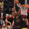 Los Cavaliers de Cleveland y Los Lakers de Los Ángeles el 13 de Enero del 2019