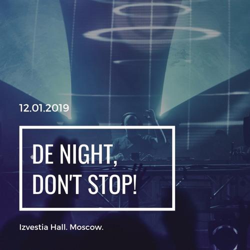 Alexey Sonar  - Digital Emotions Night 12/01/2019